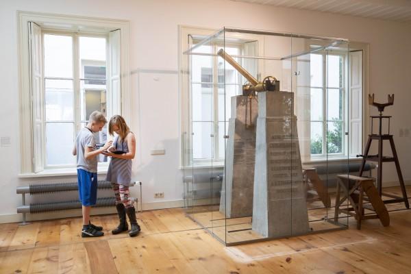In de Meridiaanzaal van Sonnenborgh werd vroeger de Utrechtse tijd gemeten