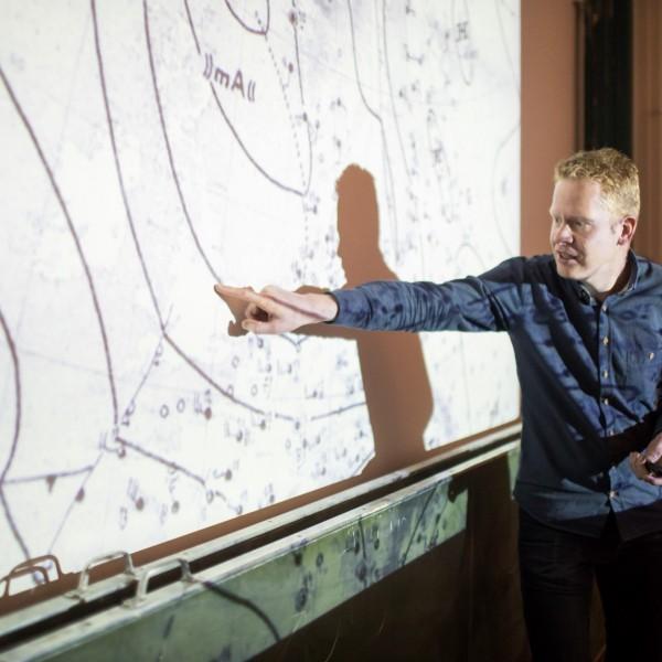 De tentoonstelling Spoorzoeken op Mars over sporen van leven op de Rode Planeet