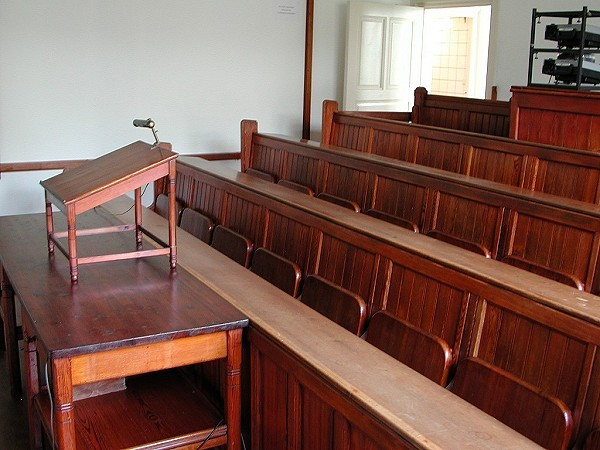 The 19th century Lecture hall of Sonnenborgh