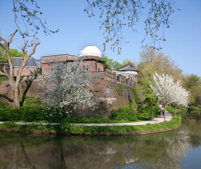 Sonnenborgh gezien vanaf de Maliesingel