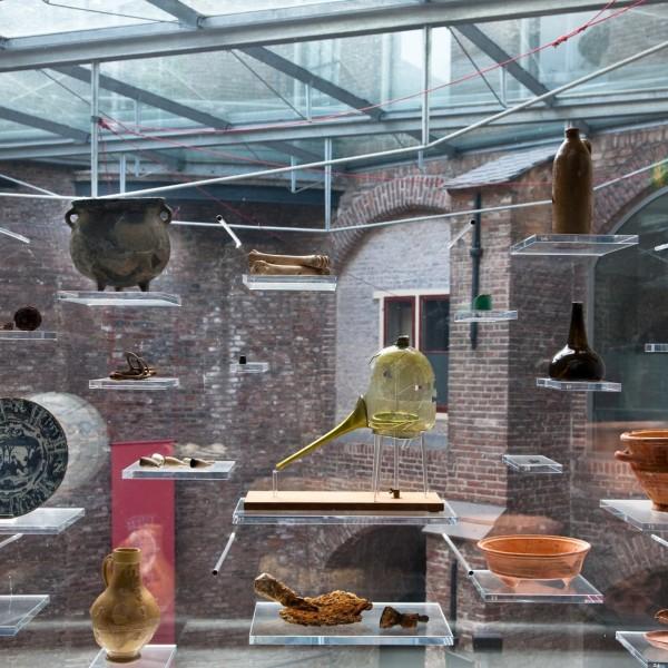 Archeologische vondsten uit het 16e-eeuwse bastion van Sonnenborgh