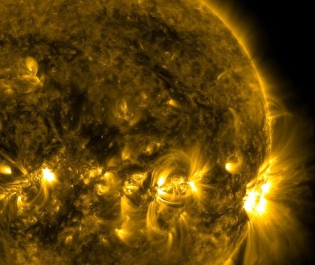 filamenten van de zon